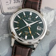 Introducing the Grand Seiko Toge GMT in British Racing Green
