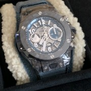 Needed a nice distraction – Hublot Big Bang Unico Frosted Carbon Swiss Alps LE
