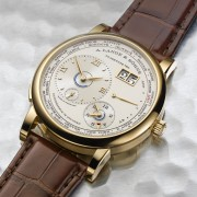 Introducing the A. Lange & Sohne LANGE 1 TIMEZONE with manufacture caliber