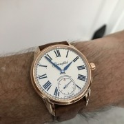 """Hanke's new arrival – Gronefeld Principia Automatic is a """"perfect match"""""""