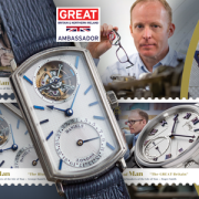 Isle of Man Post Office issues Master Watchmakers stamps for John Harwood, George Daniels & Roger W Smith
