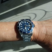 Wrist shot – the new Tudor 58 Blue
