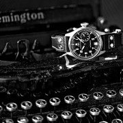 My grandfather's 1939 Remington Model 1 with the IWC 5002-03