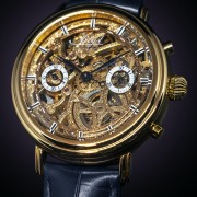 Introducing the ArtyA Historic Gold Chronograph with a classical Valjoux 23VZ from 1938