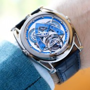 Introducing the De Bethune DB28 Steel Wheels Sapphire Tourbillon