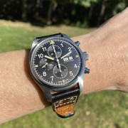 IWC Pilot Chronograph 377724 – Sometimes the natural light just hits the dial at the right angle
