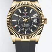 Introducing the Rolex Oyster Perpetual Sky-Dweller now fitted on Oysterflex