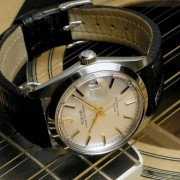 Musical – lyrical photos of an 1967 Accutron, 1922 Elgin, 1969 Tudor Prince Oysterdate, 1969 Bulova Sea King