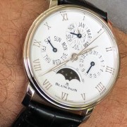 First week with the Grail – Blancpain Villeret Quantieme Perpetual