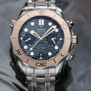 Introducing the Omega Seamaster Diver Tantalum Chronograph