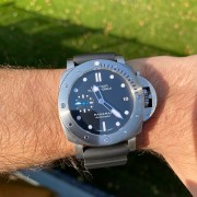 Just picked up a new to me Panerai 682 – brushing circular rather than perpendicular?