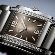 Patek Philippe reinterprets the Twenty-4 ladies cuff watch in steel