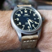 Latest addition and my first IWC – Mark XVIII Heritage
