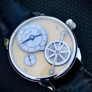 Handmade by one and only one watchmaker – Florent Lecomte in Morteau, France