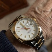 There was a time – then, I spotted this 2004 Rolex Datejust F-serial Two Tone a couple of days ago