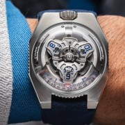 Introducing the URWERK UR-100V Iron