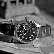 Saturday BP – Quick snap of this weekend's IWC Big Pilot