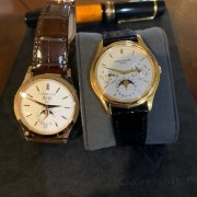 It's complicated – random pics of my Patek Philippe Ref. 3940 perpetual calendar and Ref. 5396 annual calendar