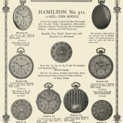 How much stuff from this 1926 Hamilton ad do I have?